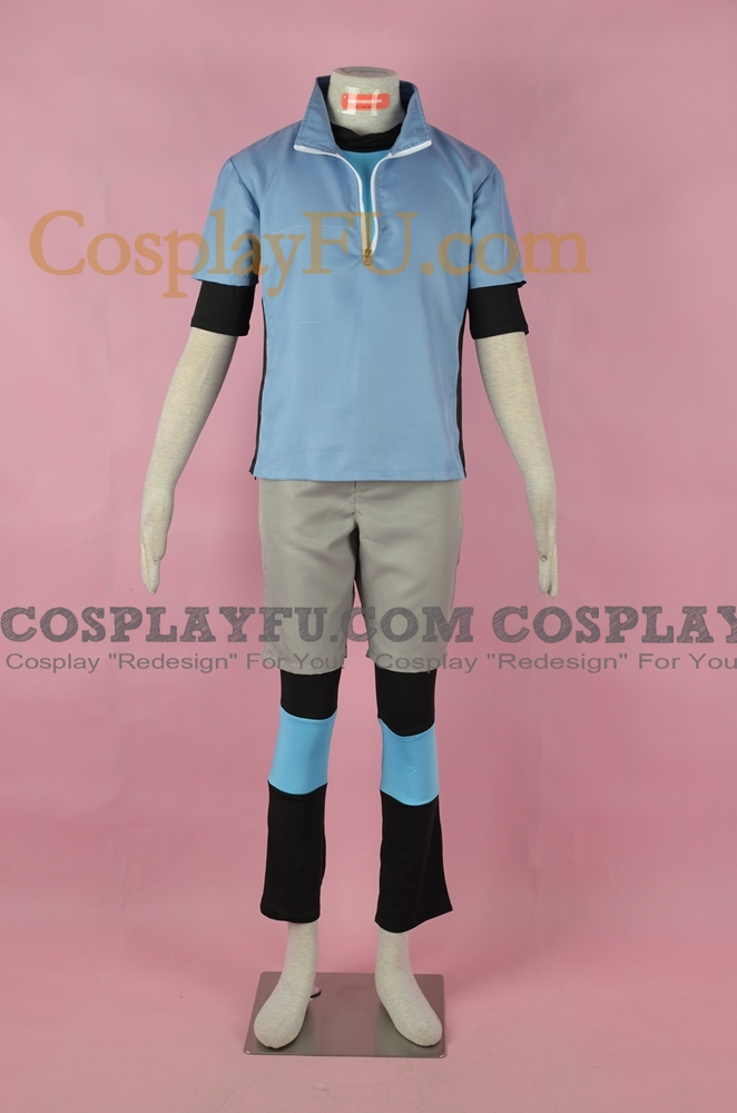 Nate Cosplay Costume from Pokemon