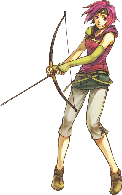 Neimi Cosplay Costume from Fire Emblem: The Sacred Stones