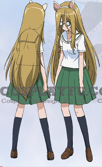 Nekota Cosplay Costume from Girls und Panzer
