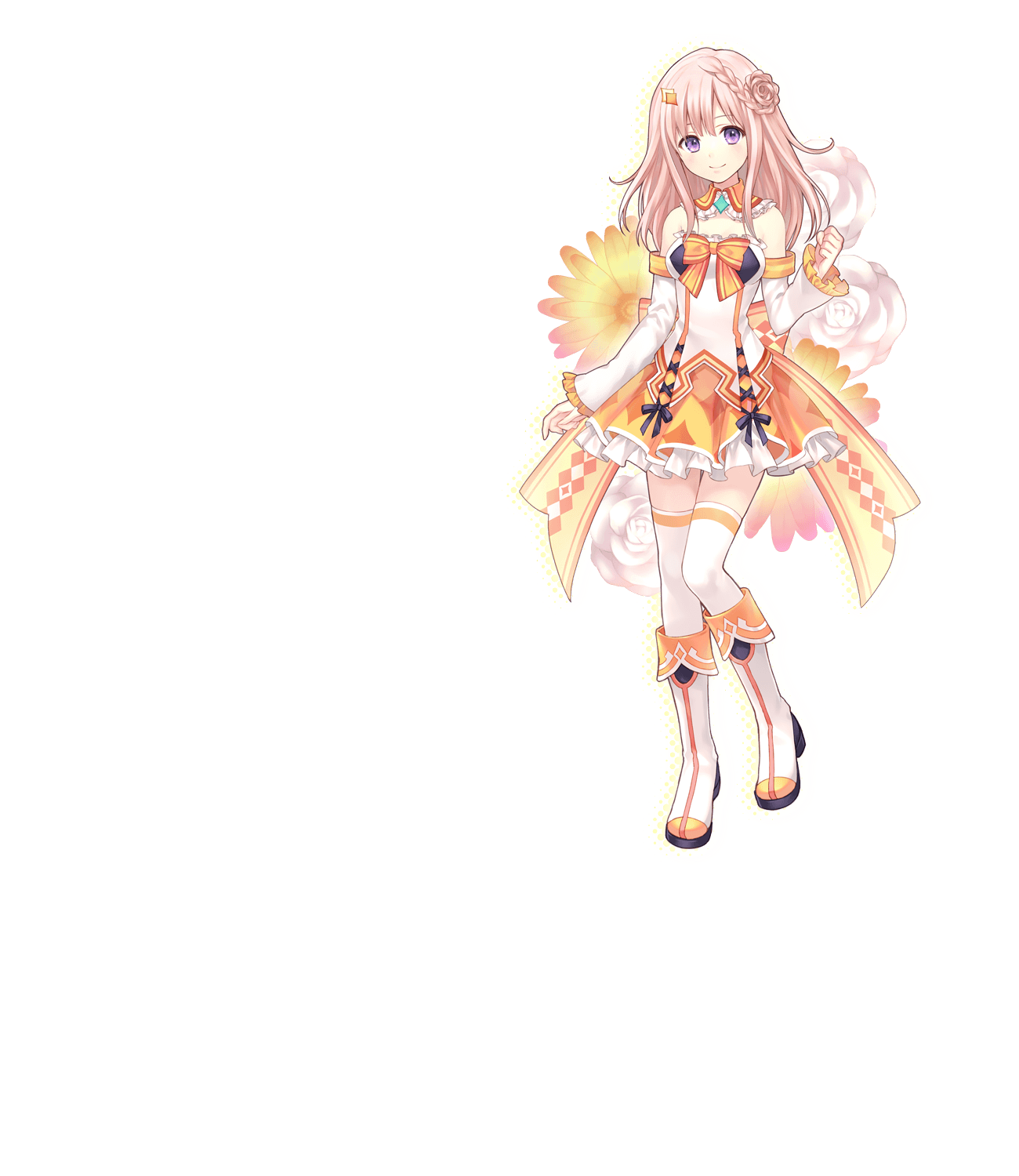 Nene Cosplay Costume from Omega Quintet