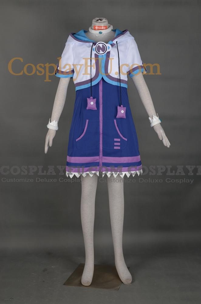 Neptune Cosplay Costume from Hyperdimension Neptunia