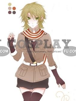 Netherlands Cosplay Costume (Female) from Axis Powers Hetalia