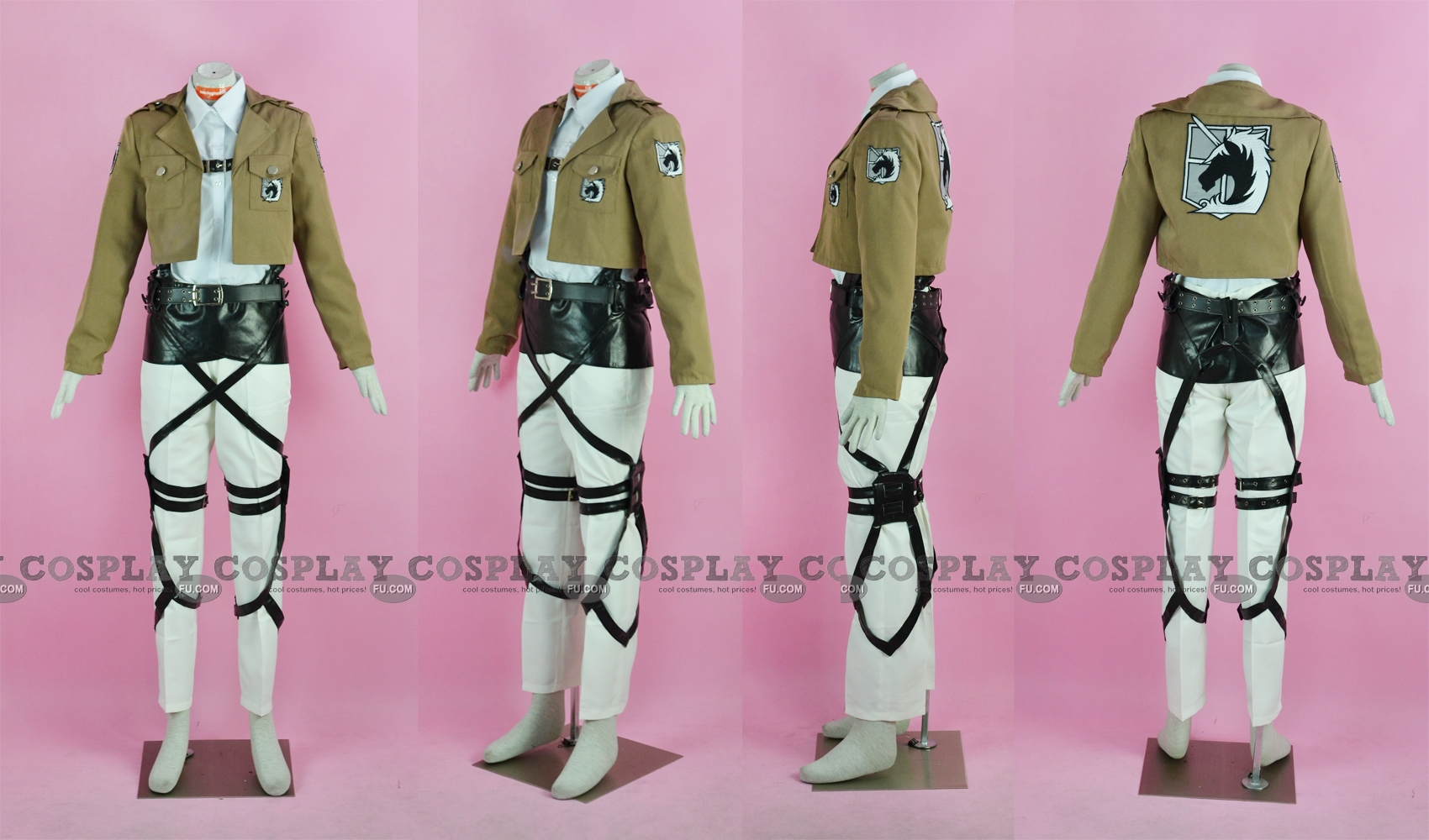 Nile Cosplay Costume (Military Police Brigade) from Attack On Titan