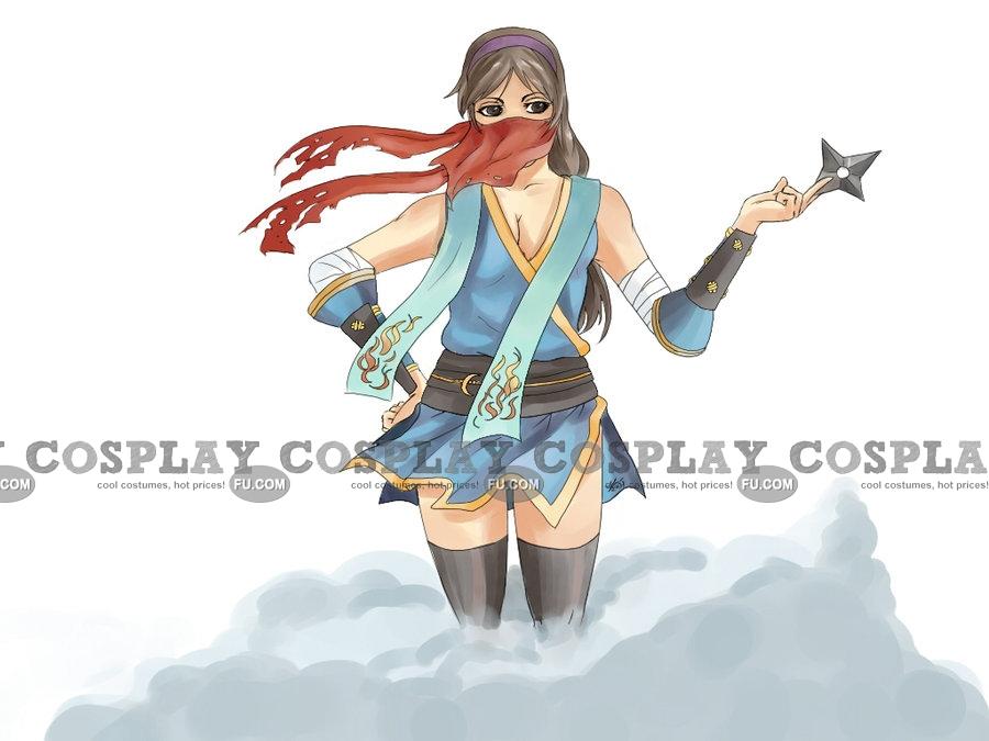 Ninja Cosplay Costume (Female) from Ragnarok Online