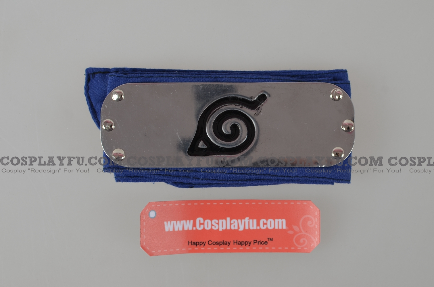 Naruto Headband (Blue,Leaf Village) from Naruto
