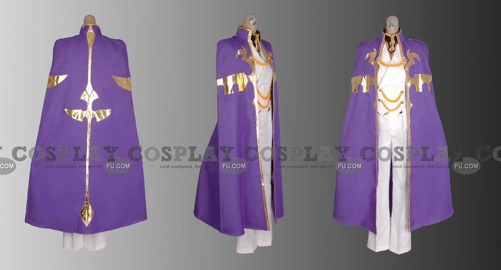 Nonette Cosplay Costume from Code Geass
