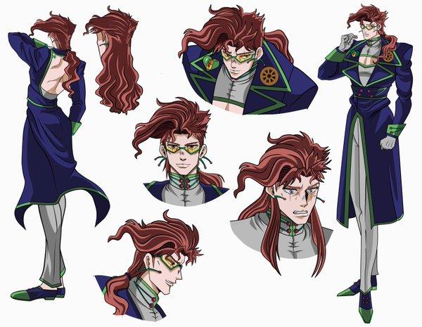 JoJo's Bizarre Adventure Noriaki Kakyoin Parrucca (2nd)