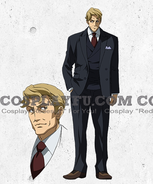 Norman Cosplay Costume from Mobile Suit Gundam Iron Blooded Orphans