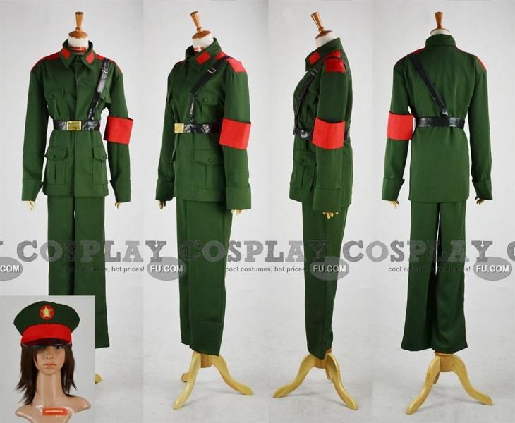 North Korea Cosplay Costume from Axis Powers Hetalia