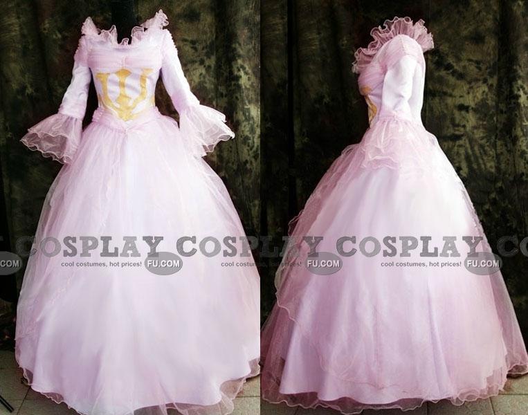 Nunnally Cosplay Costume (ED Dress) from Code Geass
