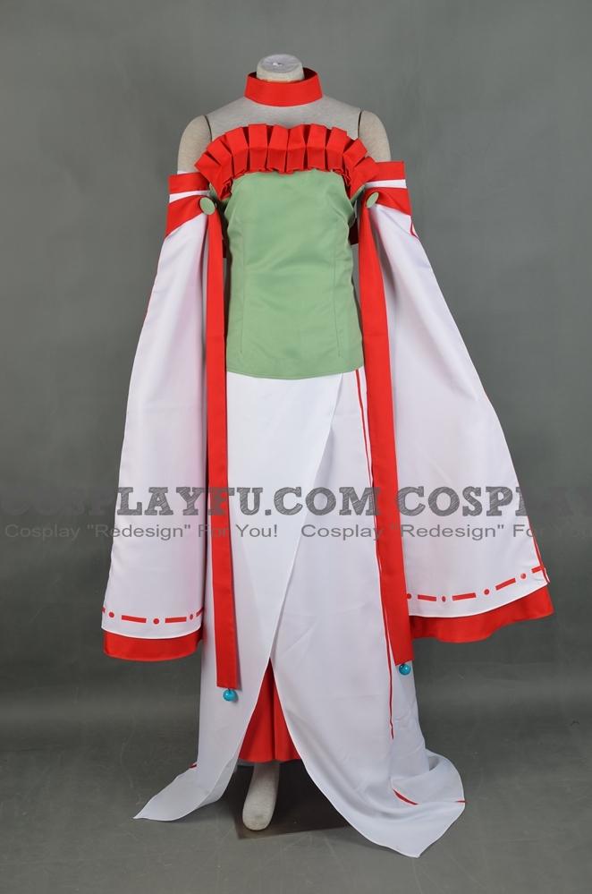 Nuregami Cosplay Costume from Okami