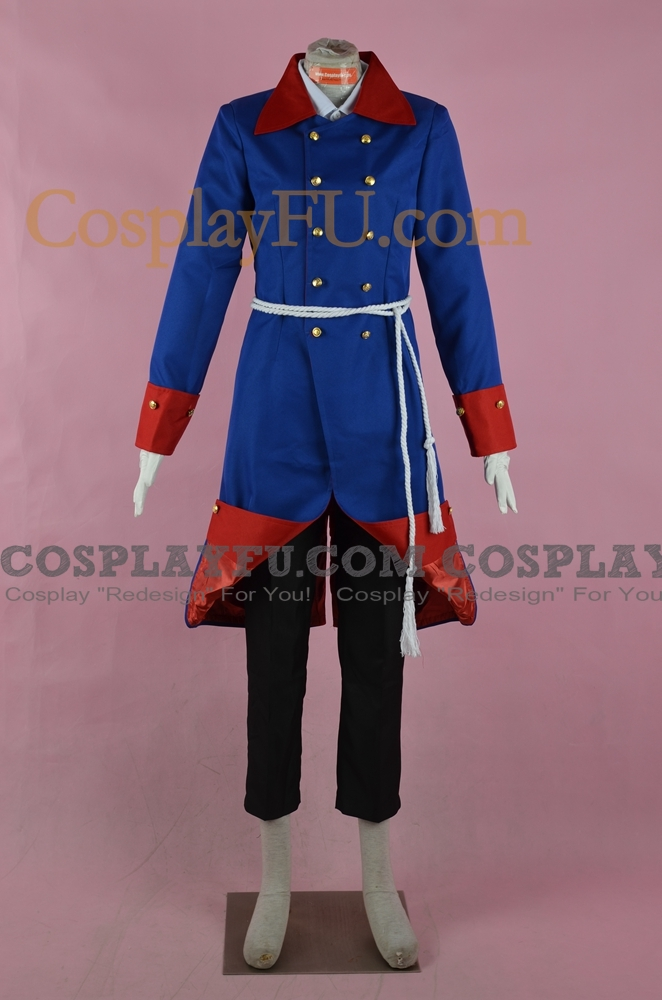 Old Fritz Cosplay Costume from Axis Powers Hetalia