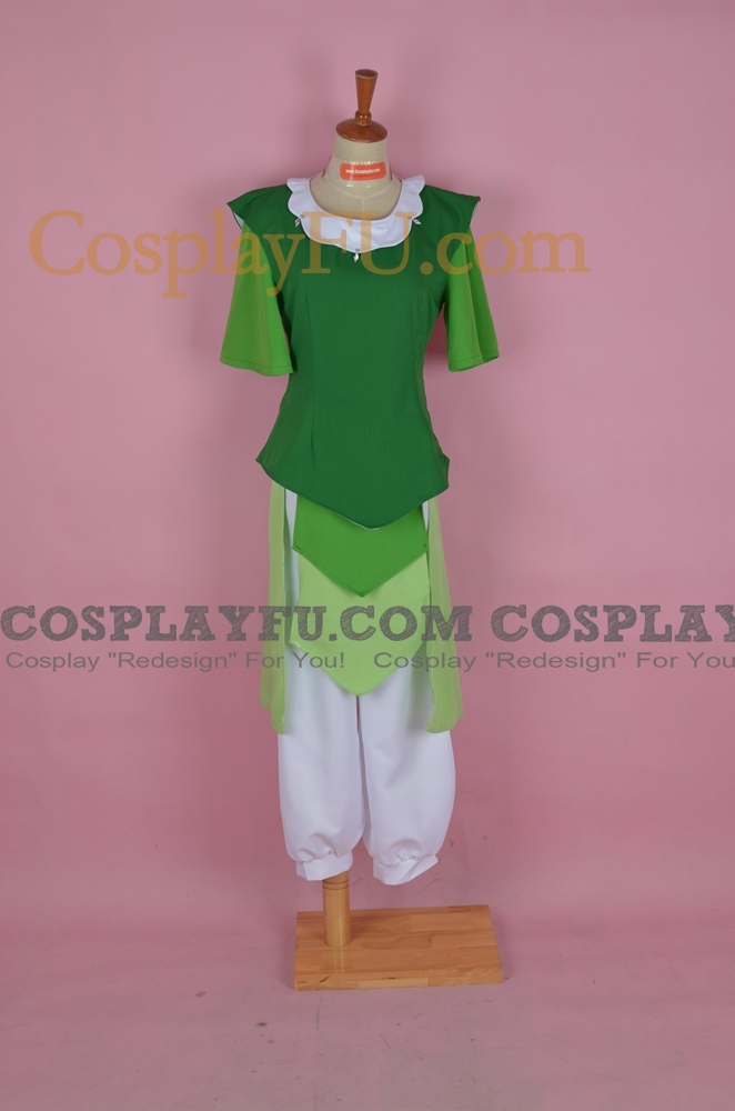 Opal Cosplay Costume from The Legend of Korra