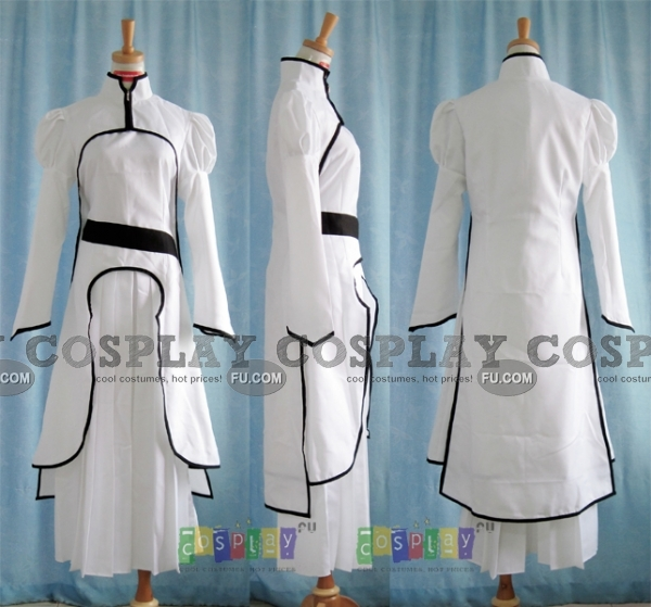 Orihime Cosplay Costume (Arrancar) from Bleach