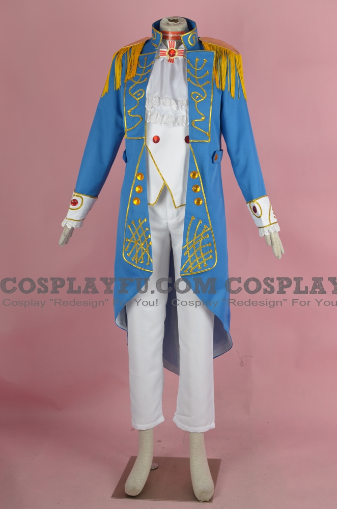 Oscar Cosplay Costume from The Rose of Versailles
