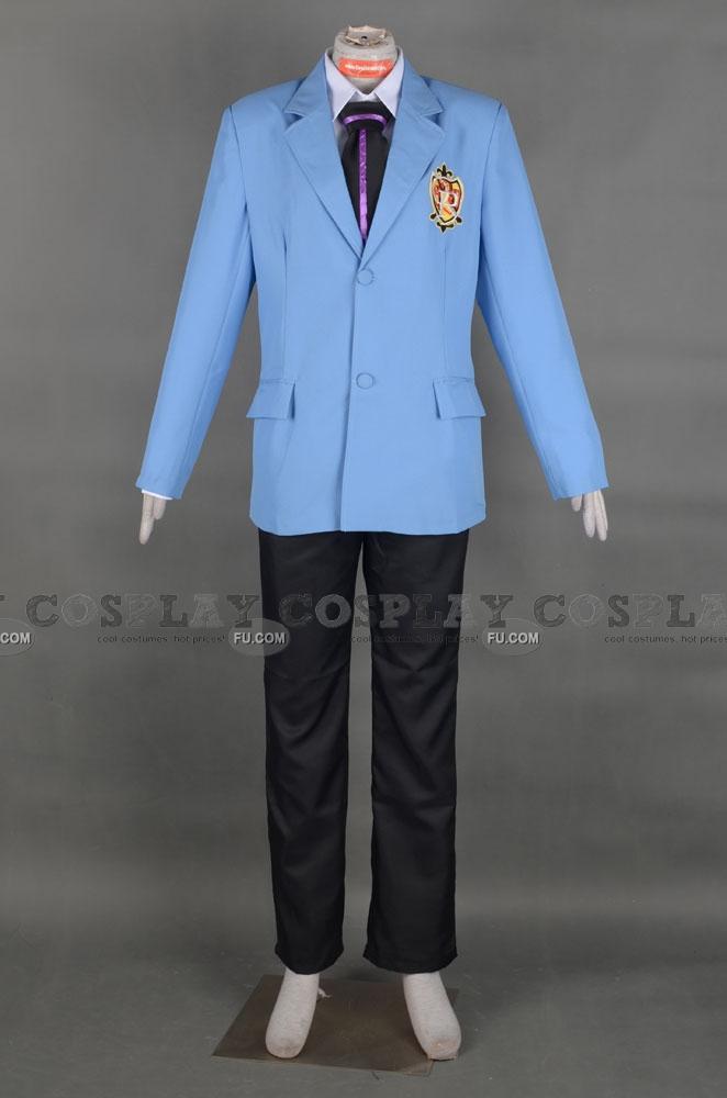 桜蘭高校ホスト部 須王 環 コスチューム (Ouran High School Boy Uniform)