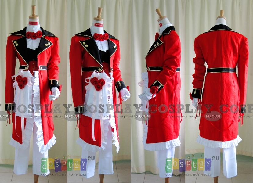 Oz Cosplay Costume (Red) from Pandora Hearts