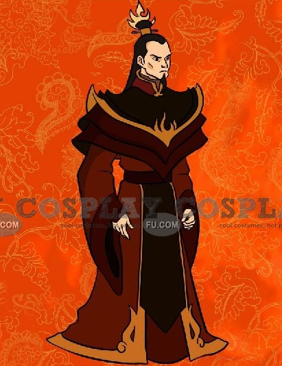 Ozai Cosplay Costume from Avatar The Last Airbender