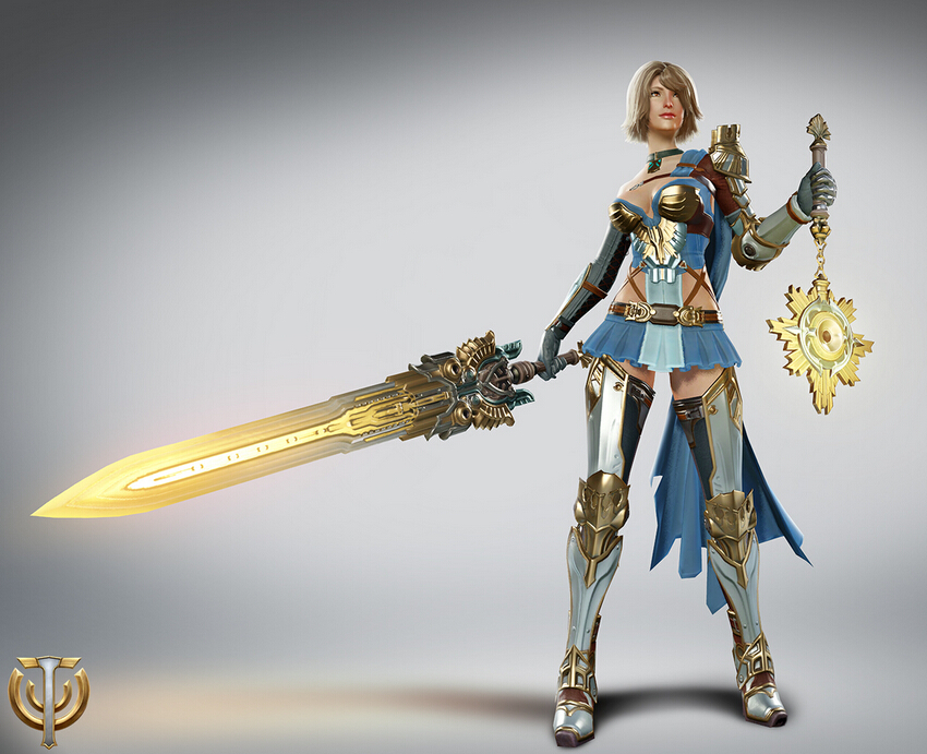 Paladin Female Cosplay Costume from Skyforge