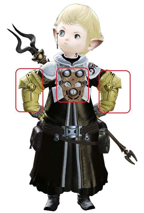 Papalymo Cosplay Costume from Final Fantasy XIV