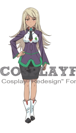 Pareto Cosplay Costume from The Asterisk War