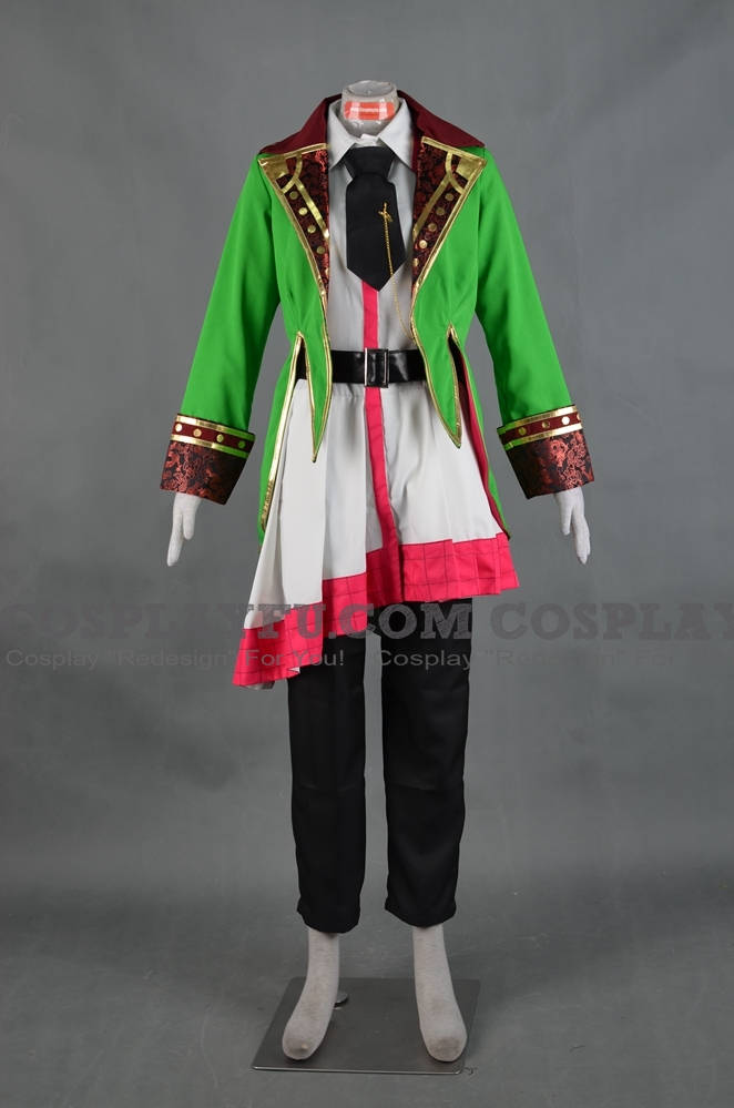 Pierce Cosplay Costume from Alice in the Country of Hearts