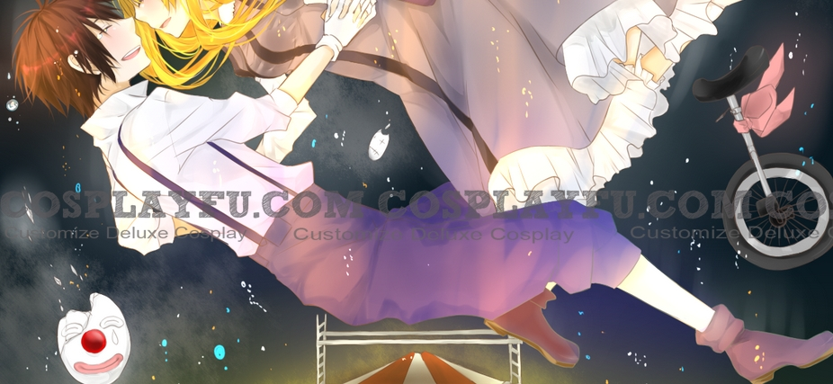Senka Cosplay Costume (Pierrot Song) from Vocaloid