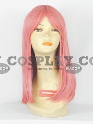 Pink Wig (Medium,Straight,Shimizu)