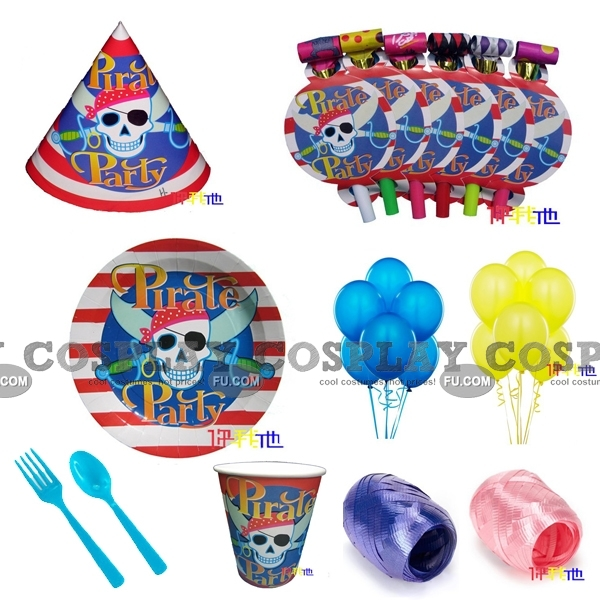 Pirate Party Kits (01 Deluxe)