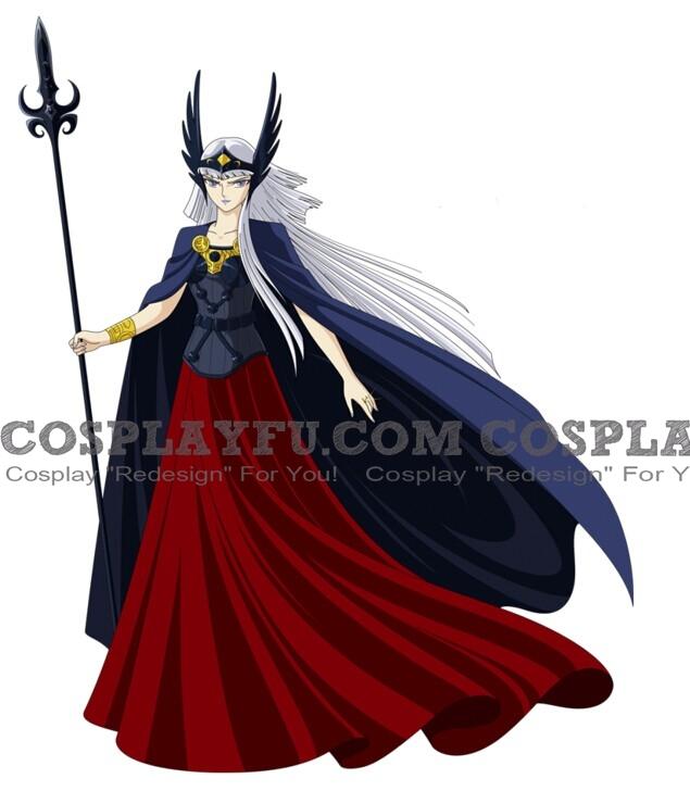 Polaris Cosplay Costume from Saint Seiya