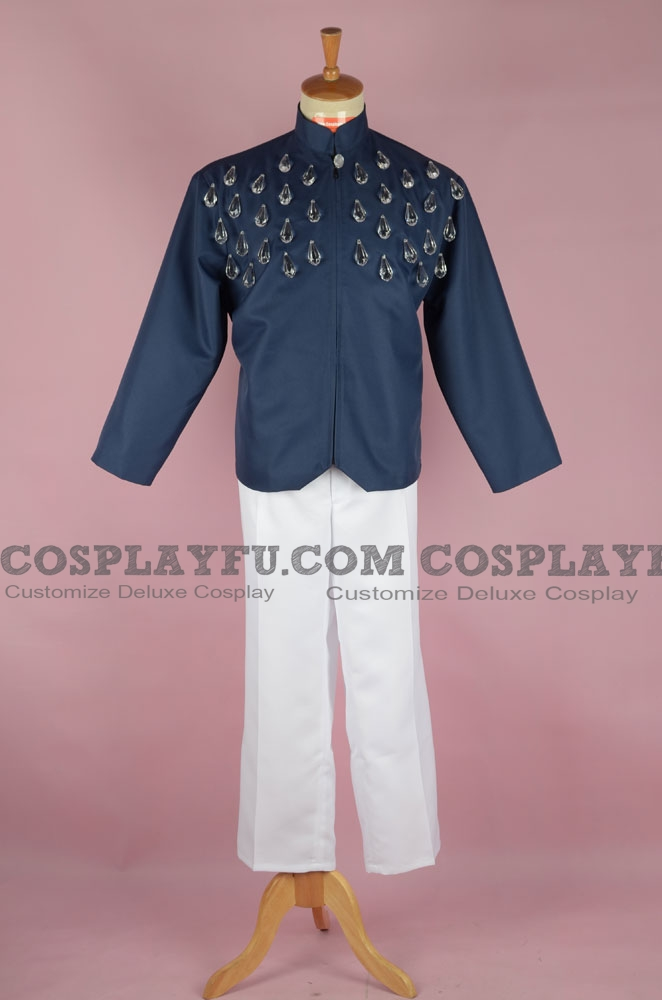 Prince Sapphire Cosplay Costume from Sailor Moon