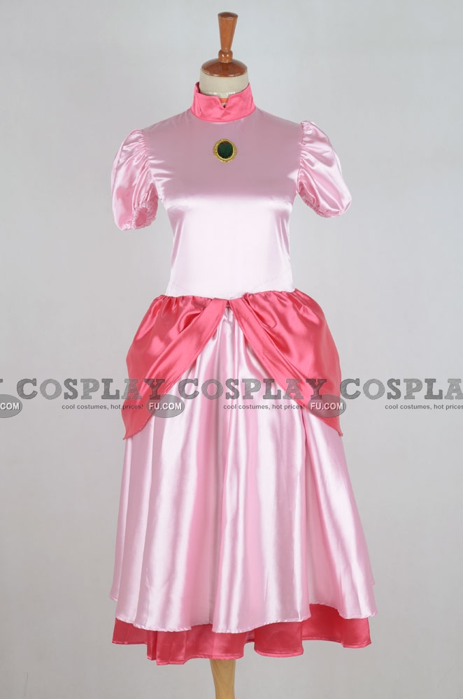 Princess Peach Cosplay Costume from Super Mario