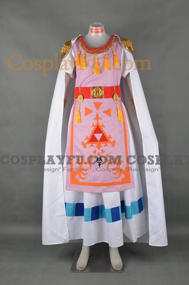Princess Zelda Cosplay Costume (Pink) from The Legend of Zelda A Link Between Worlds