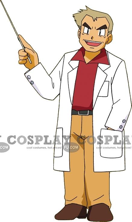 Professor Cosplay Costume from Pokemon