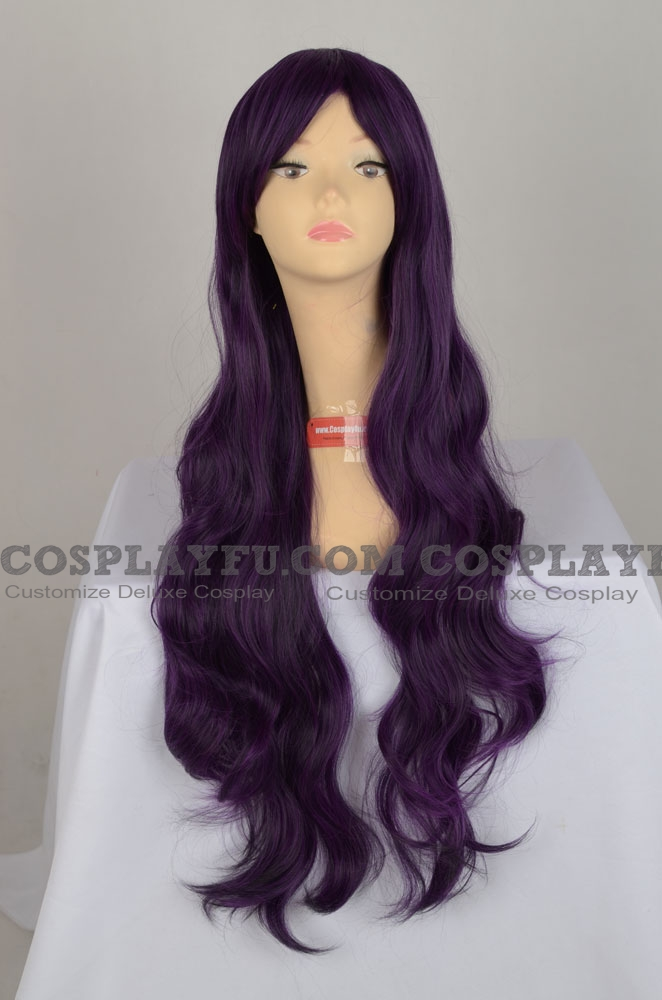 Purple Wig (Curly, Long, ZXTomoy )