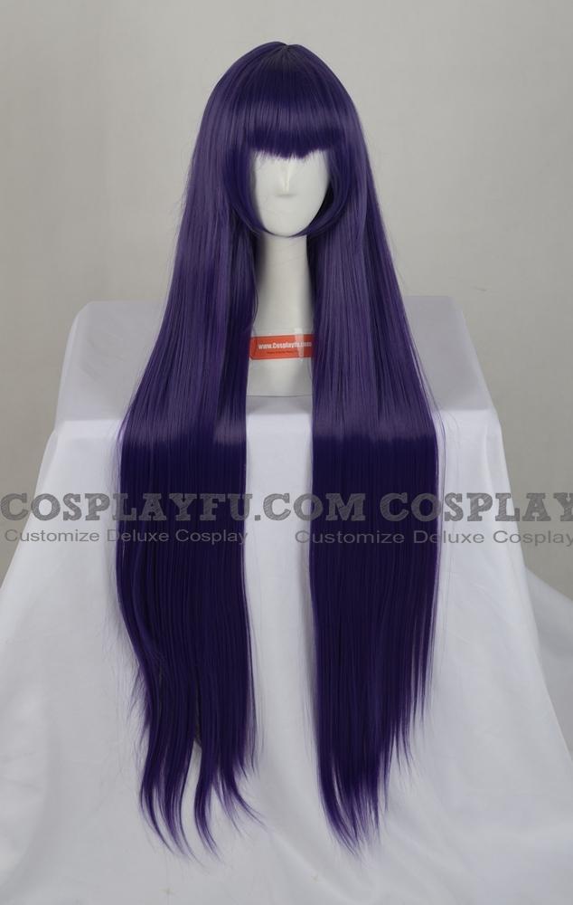 Purple Wig (Long,Straight,Bernkastel)