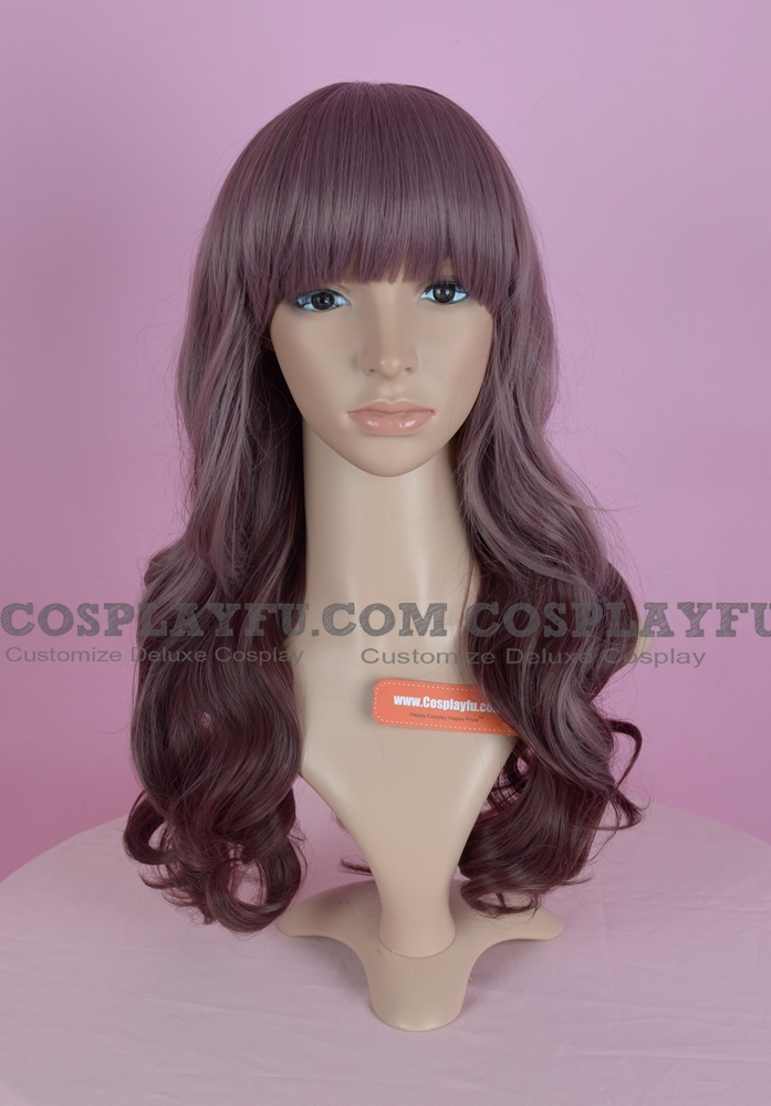 Purple Wig (Long,Wavy,B24)