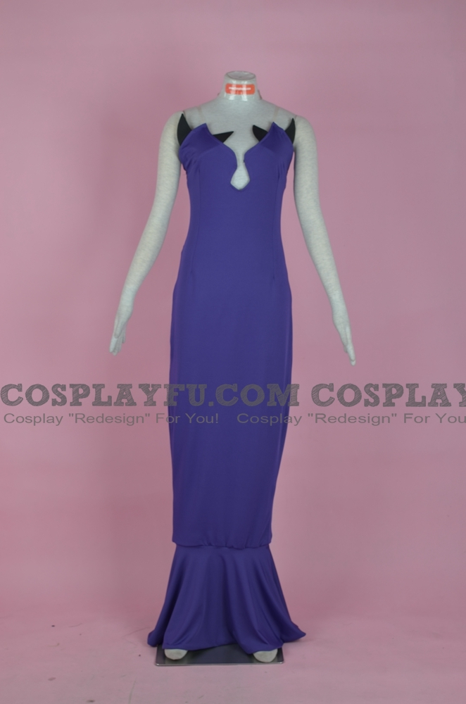 Queen Beryl Cosplay Costume from Sailor Moon