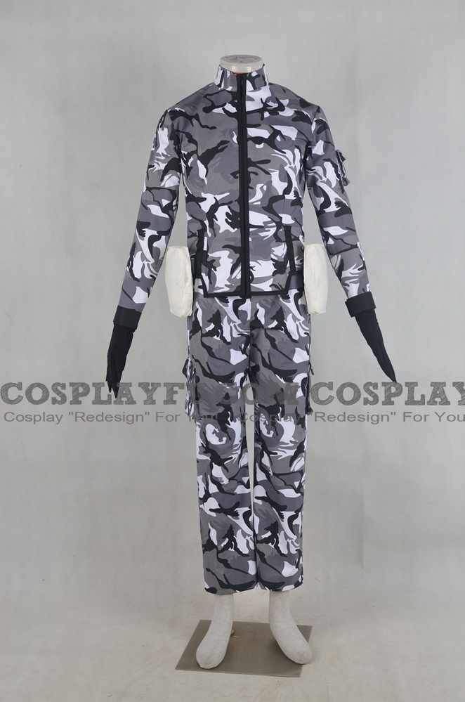 Quenser Barbotage Cosplay Costume from Heavy Object