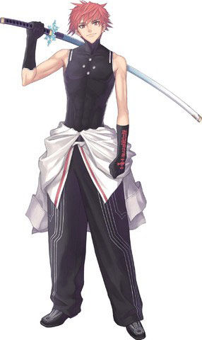 Rage Cosplay Costume from Shining Blade