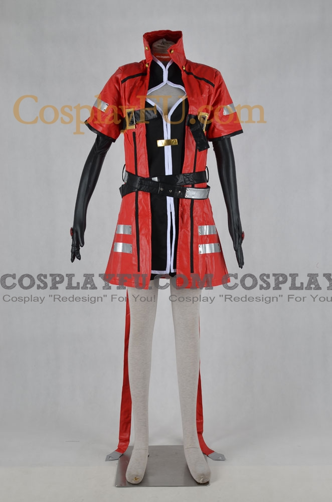 Ragna Cosplay Costume (Female Version) from BlazBlue