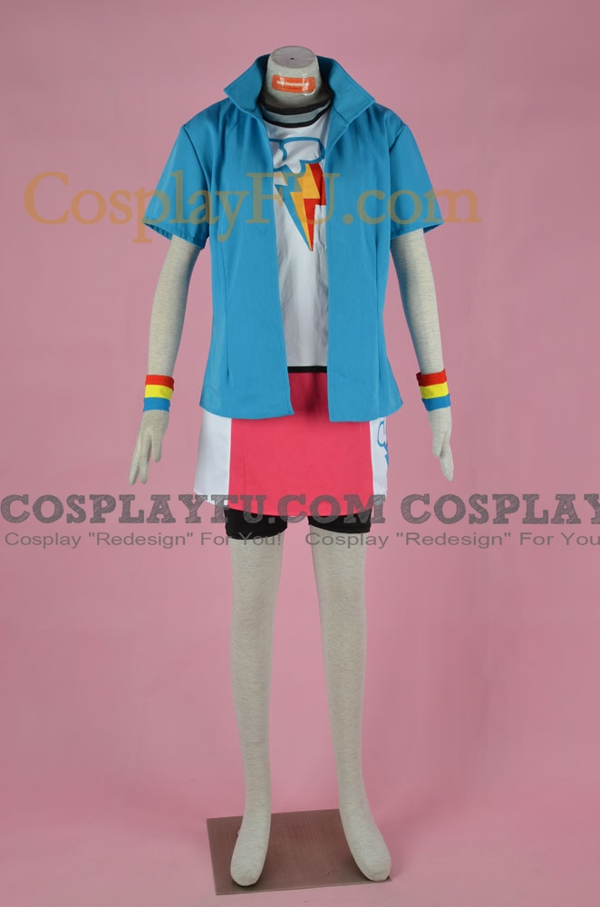 Rainbow Dash Cosplay Costume from My Little Pony