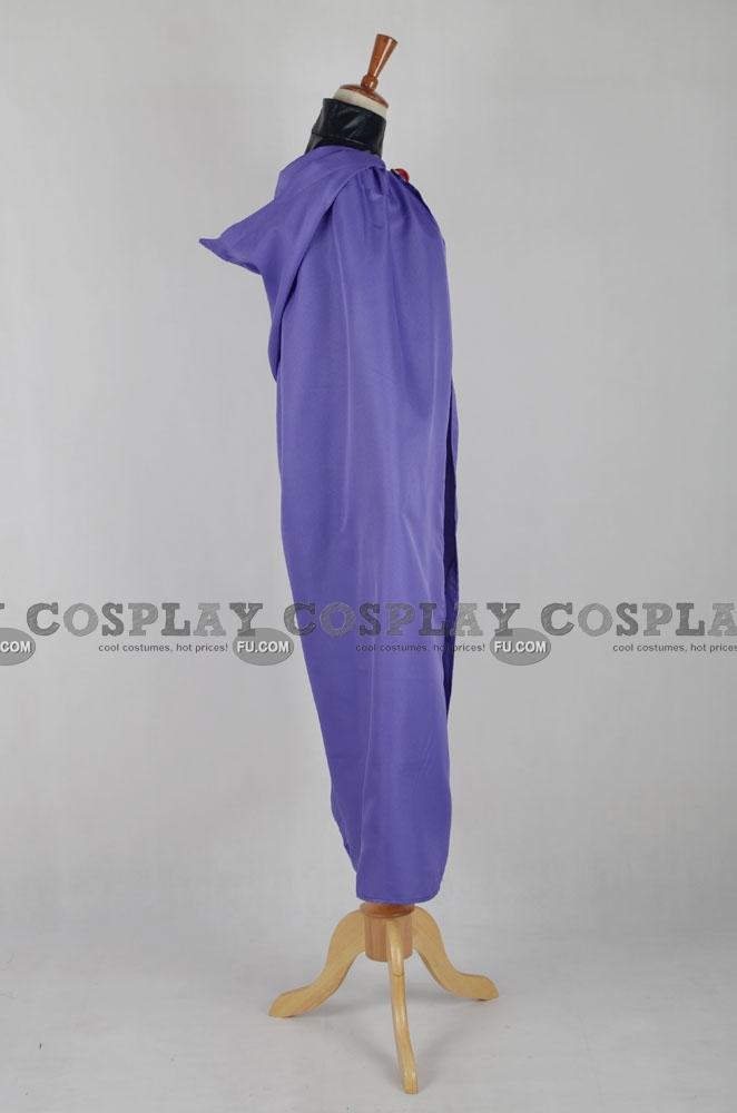 Custom Raven Cosplay Costume From Teen Titans - Cosplayfucom-3723