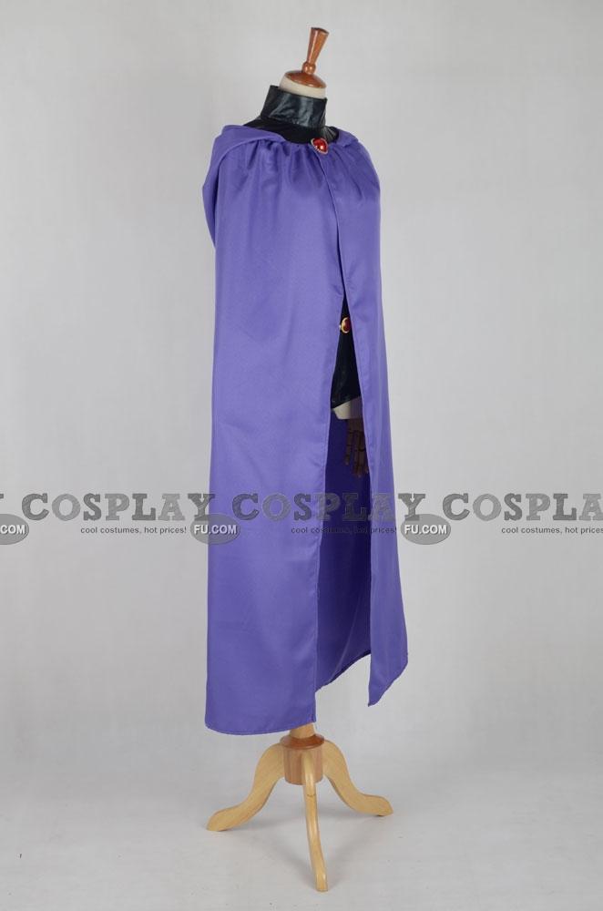 Custom Raven Cosplay Costume From Teen Titans - Cosplayfucom-6962