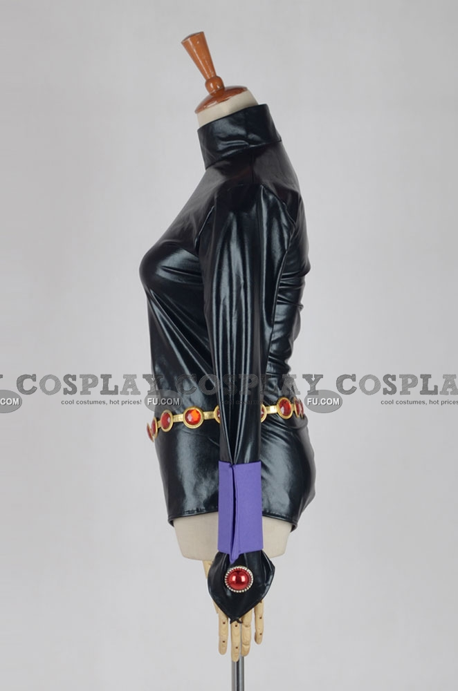 Custom Raven Cosplay Costume From Teen Titans - Cosplayfucom-5140