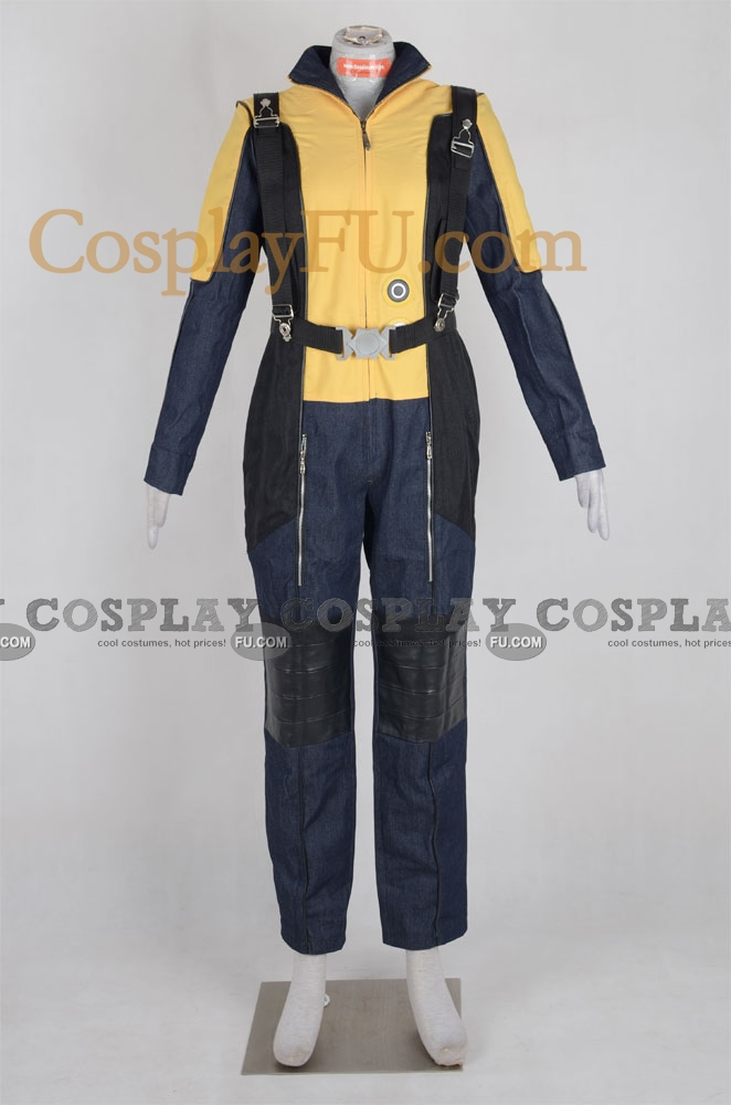 Raven Cosplay Costume (Jennifer Lawrence) from X Men First Class