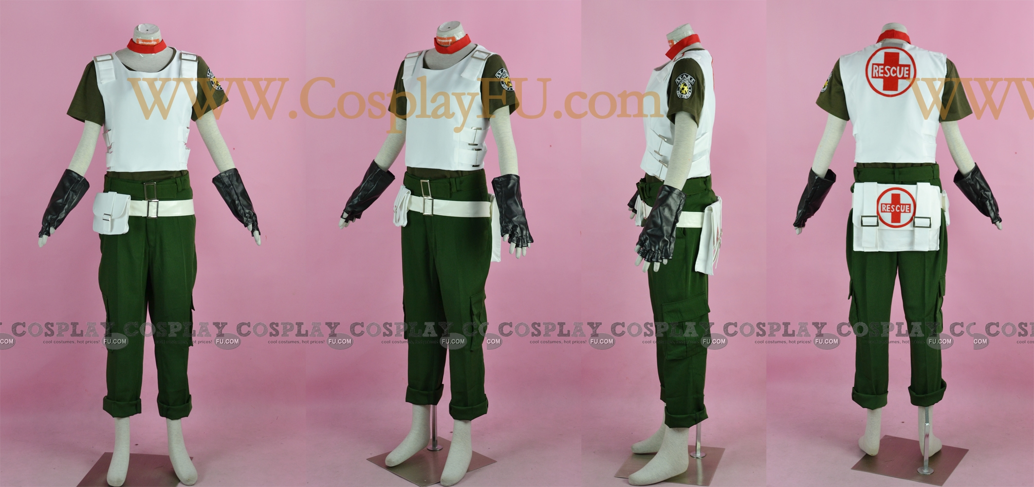 Rebecca Cosplay Costume from Resident Evil