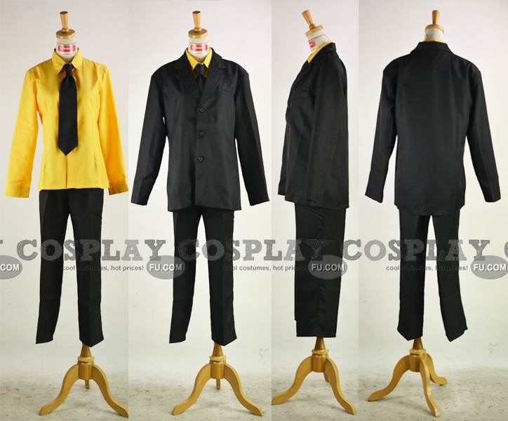 Reborn Cosplay Costume from Katekyo Hitman Reborn