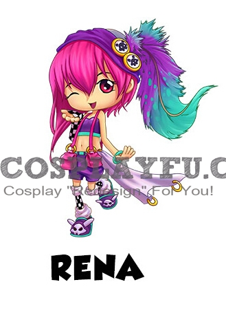 Rena Cosplay Costume from Sky Punks