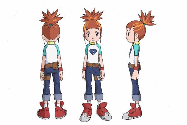 Rika Cosplay Costume from Digimon Tamers
